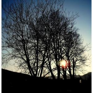 B19 Západ slunce