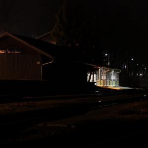 B172 Večerní  nádraží