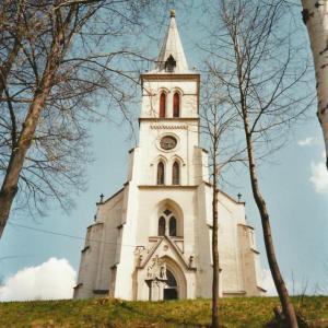 B182 kostel v Mnichově