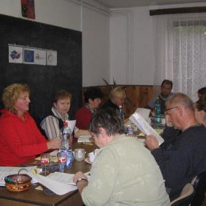 schůze týmu komunintího plánování