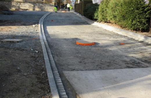 Ulice Hřbitovní je uzavřena