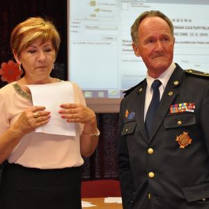 ocenění K. Friedrichovi, autor: Ladislav Olejníček