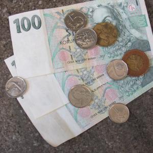 peníze, autor: Alena Kiedroňová