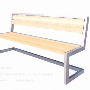 Návrh lavičky   Zajíček