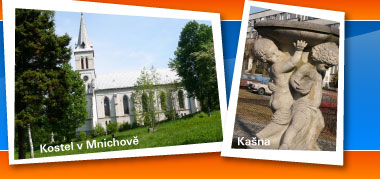 Kostel v Mnichově ~ Kašna