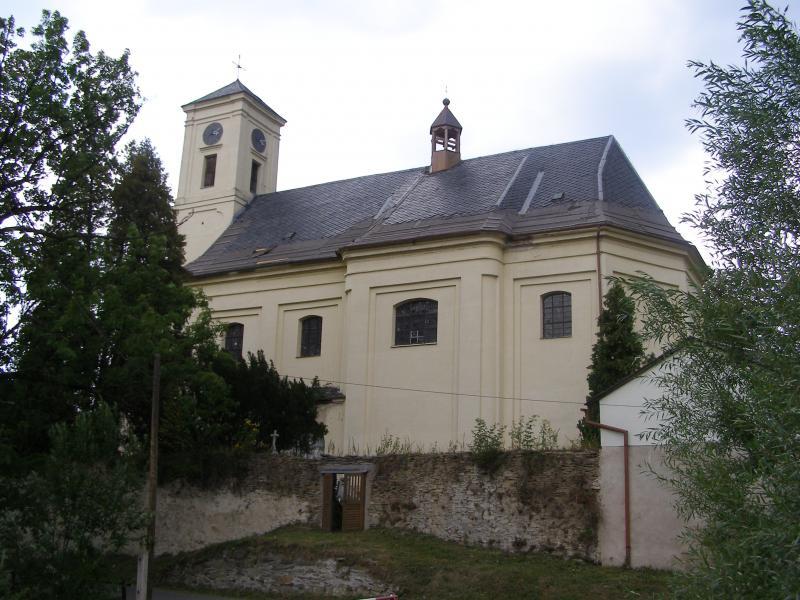 Kostel sv. Martina v Široké Nivě, obrázek se otevře v novém okně