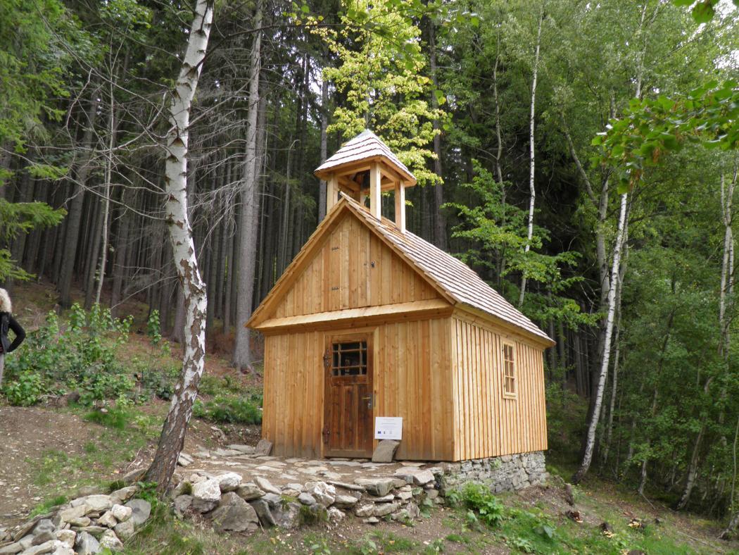 Kaple Panny Marie Sněžné v Železné, obrázek se otevře v novém okně