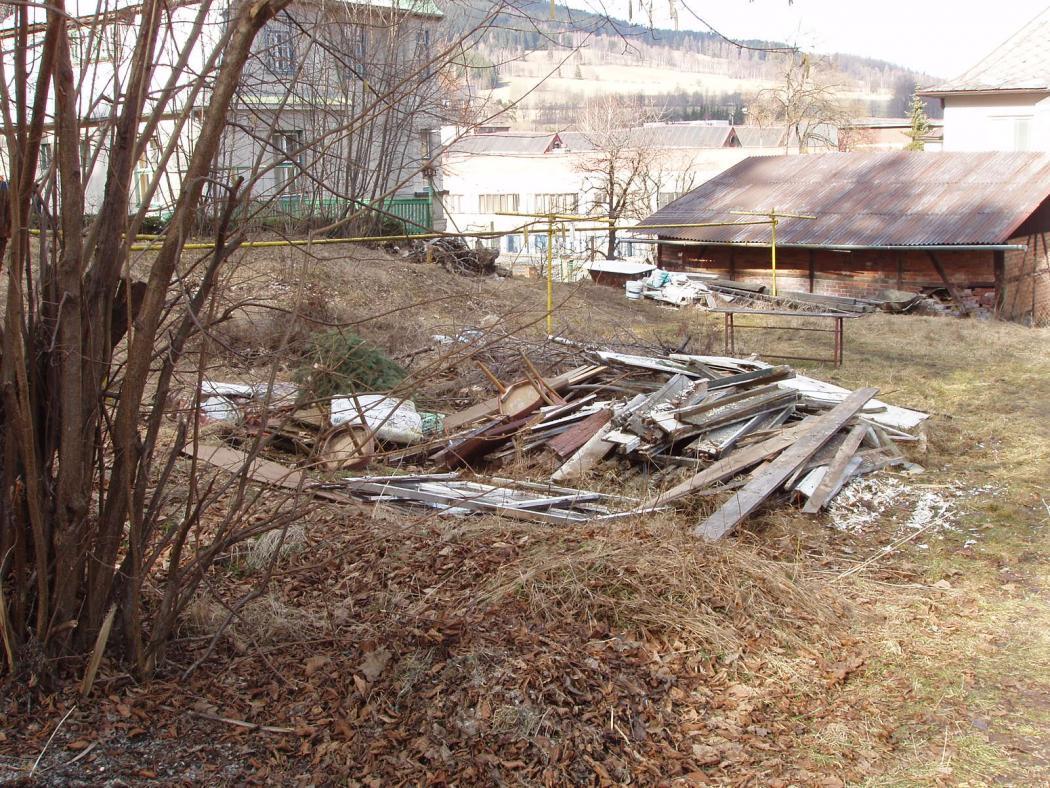 Lesopark před obnovou, obrázek se otevře v novém okně