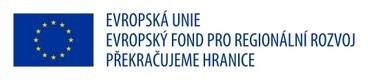EU Evropský fond pro regionální rozvoj