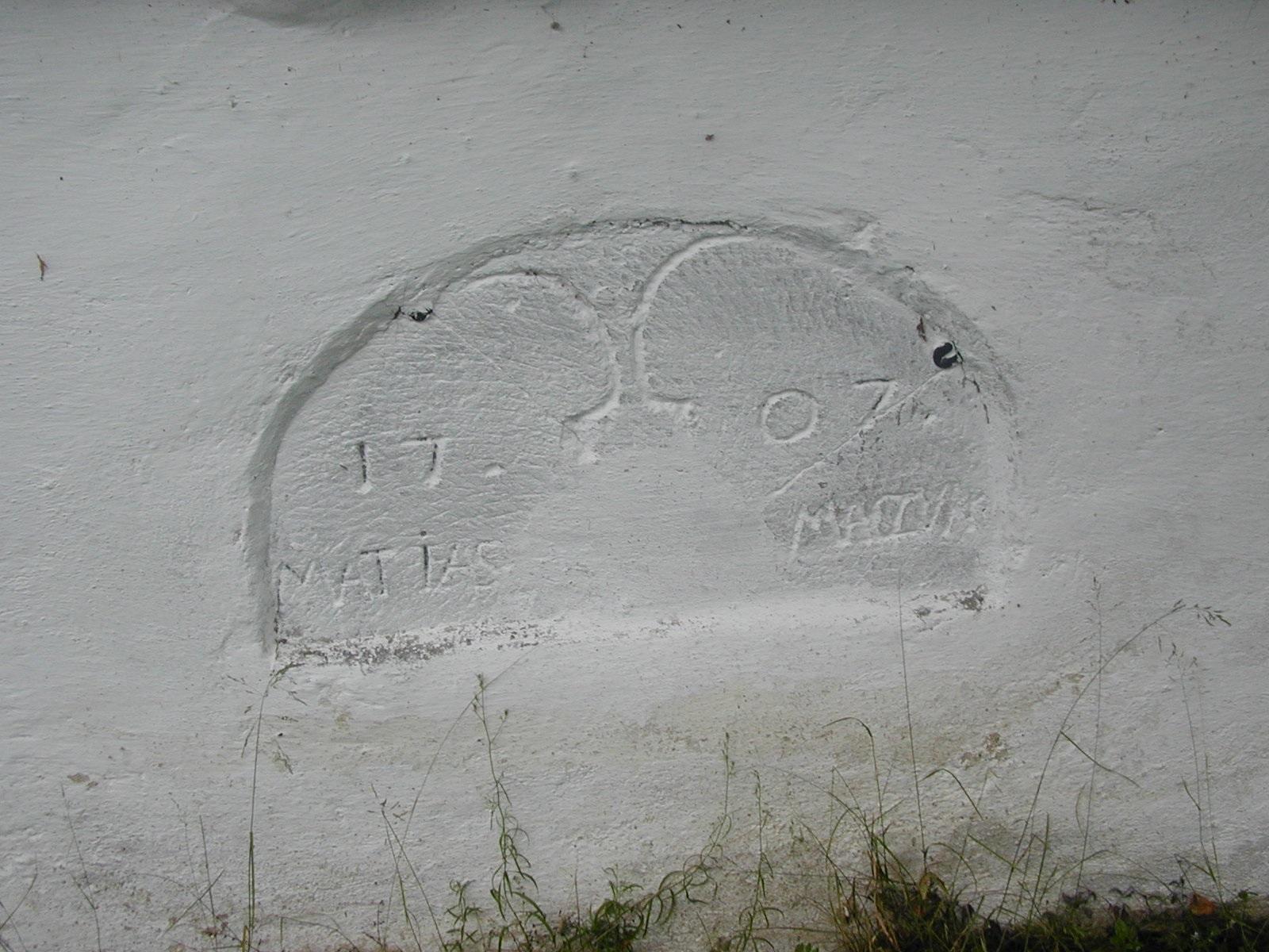 náhrobek Matiase Maczuka, obrázek se otevře v novém okně